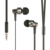 Wired Metal In Ear Headphones, Noise Isolating Stereo Bass Earphones With MicDynamic Drivers Earbuds Provide Stereo