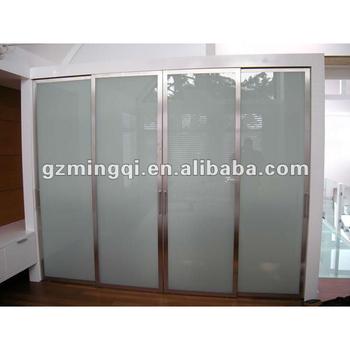 Alluminio Da Cucina Porta Tapparella/vetro Smerigliato Porte Armadio ...