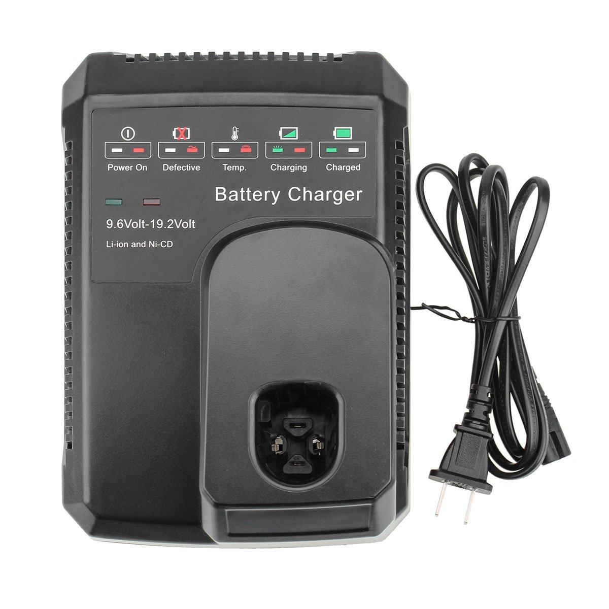 Munikind for Craftsman 19.2 Volt Battery Charger 9.6V-19.2V Lithium NiCD NiMH C3 DieHard XCP 1425301 1323903 130279005 11375 11376 315.PP2011