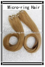 Micro-ring Hair extensions huge in stock,light brown,Ring hair extension