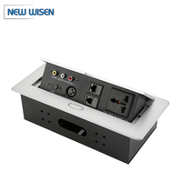 Office Furniture Wiring System Multi Plug Tabletop Socket