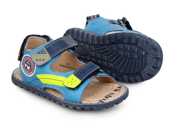 2015 Boys Girls Non-Slip & wearproof fashion Sandals Children Summer style Soft Sole casual Beach Sandals light Shoes eu 27-35