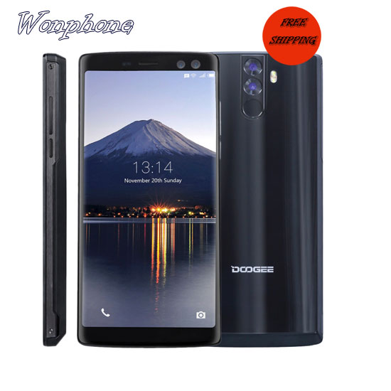 Free shipping DOOGEE BL12000 Pro 6GB RAM 128GB ROM 4g mobile phones with 12000mAh Battery фото