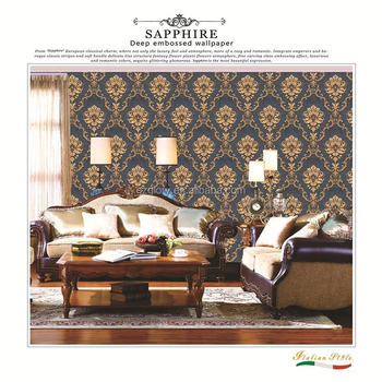 Glory Professional Factory Manufacture Classic Style Multi Color Option Pvc Embossed Wallpaper Designs Buy Wallpaper Wallpaper Designs Pvc Wallpaper Product On Alibaba Com