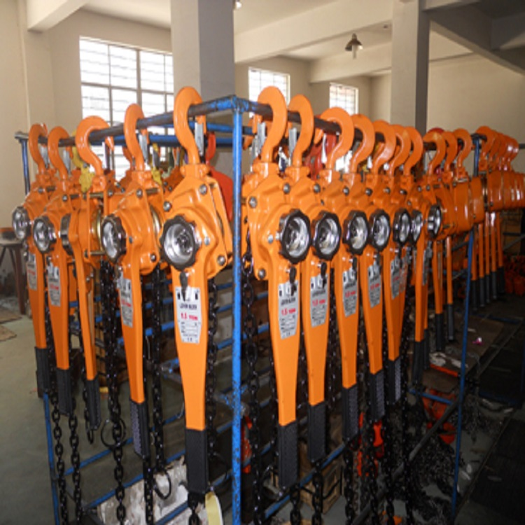 Hand operated Ratched lever block hoist equipment