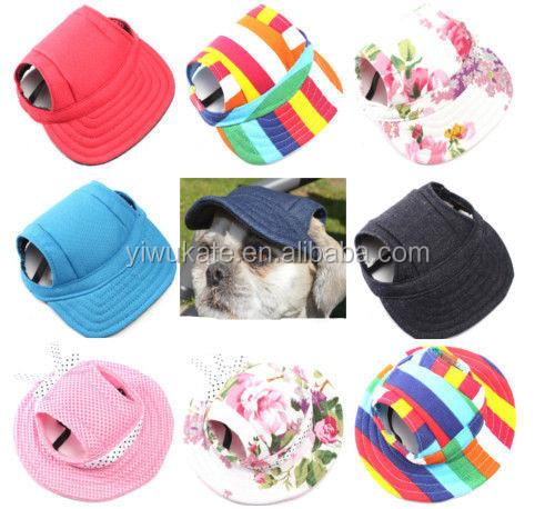 8081b26f642 Pet Dog Baseball Cap Sport Cap Hat - Outdoor Hat Sun Protection Summer  Winter Cap for