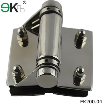 Slow Close Stainless Steel Door Glass To Glass Clamp Hinge