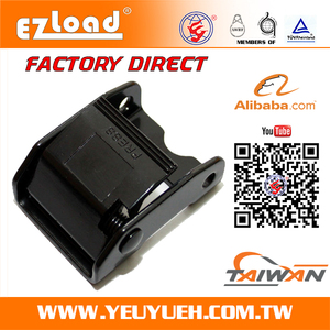 [EZ LOAD] Adjustble Black Metal Cam Buckle for Tie Down Strap