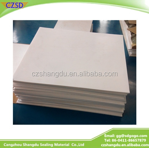 SD Pure white virgin Albania market Skived PTFE sheet