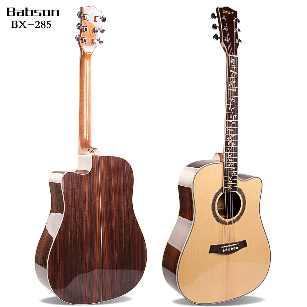 Babson Cheap Price Musical Instruments Acoustic Students Guitar OEM For Beginner фото