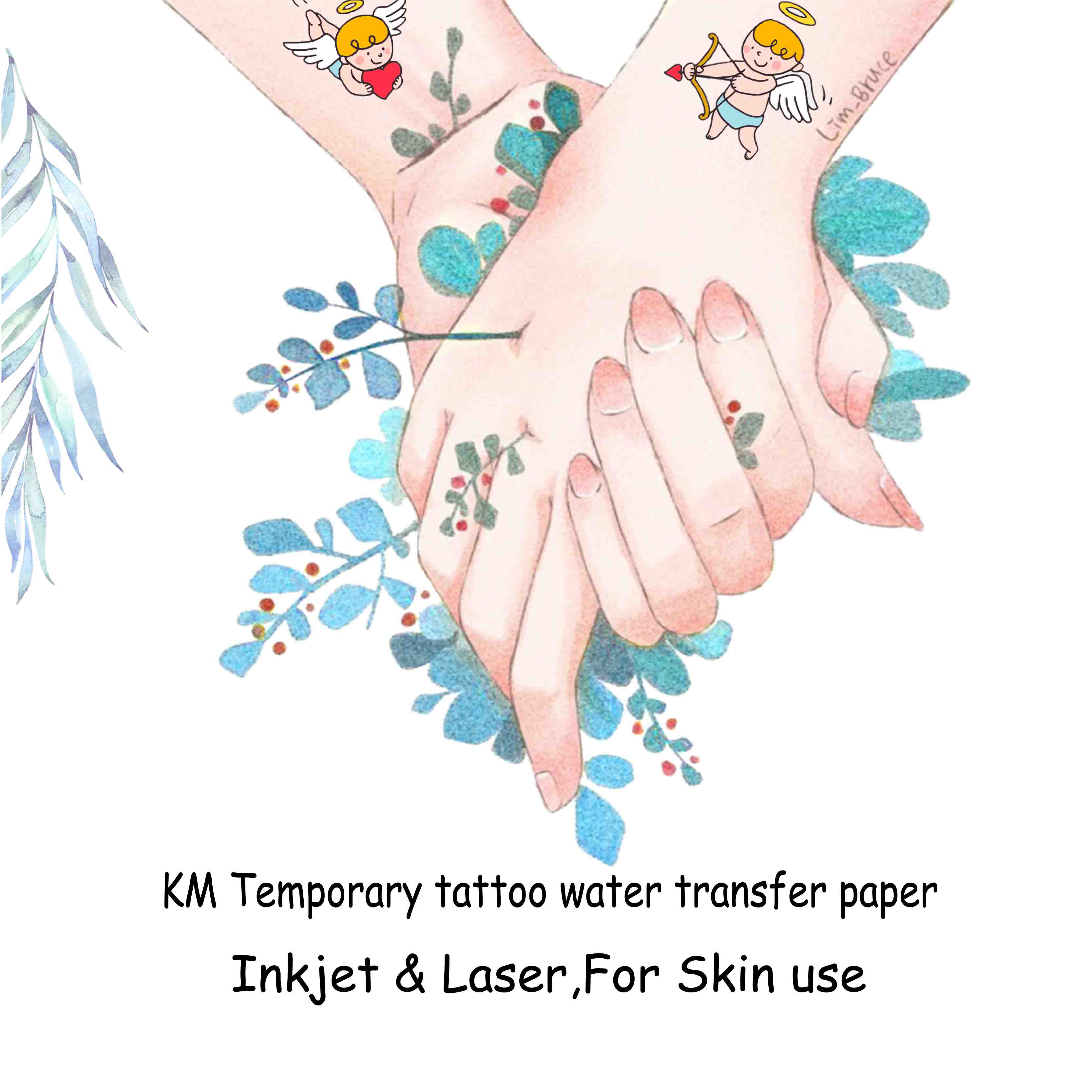 Water Slide Temporary Tattoo Paper - Laser :