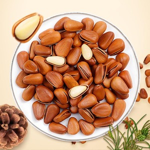 factory direct selling natural opened afghan pine nuts for import