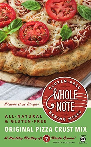 Whole Note Gluten Free Baking Mix, Original Pizza Crust Mix, 3 Count