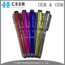 High quality breaking glass defense escape tactical pen with 3 in 1 function