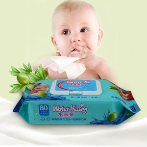 Wholesale Non Alcohol baby wipes private label