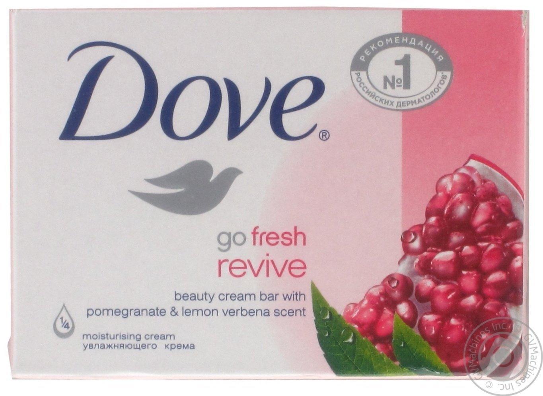 Dove go fresh revive beauty cream bar with Pomegranative & Lemon verbena salt