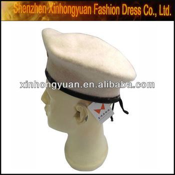 Boina Militar Chapéus Brancos - Buy Militar Boina Branca 5134d7b51b6