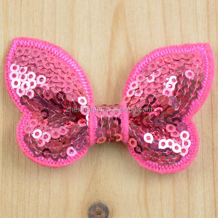 Пайетки вышивка бабочка 140