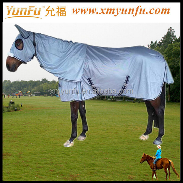 Equestrian Equipment 1680D turnout Horse rug with Detachable neck