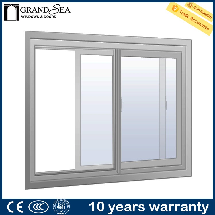 Fire resistance single glazed vintage wooden window frame with fly screen