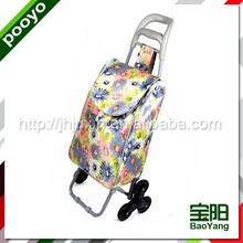 sturdy promotion shopping trolley bag clax trolley
