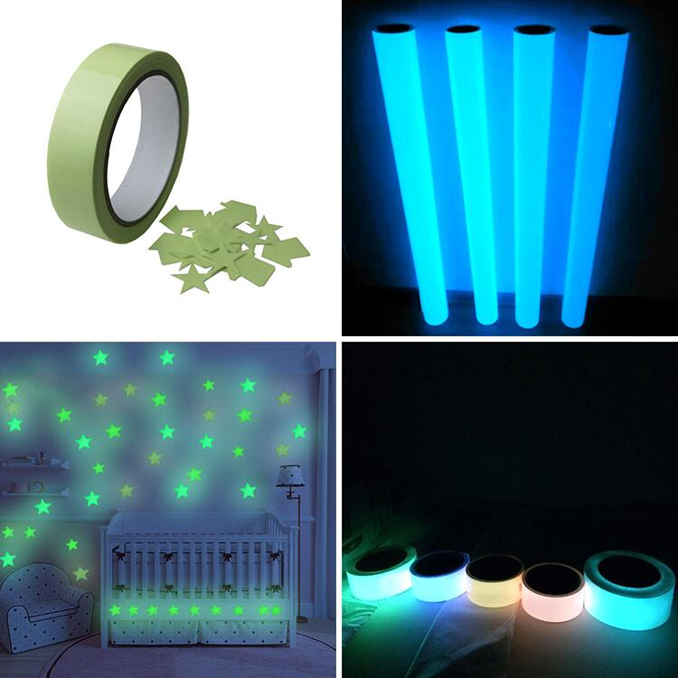 PVC Blue 광 발광 Tape PET Glow in Dark Tape 대 한 Emergency Exit 간판