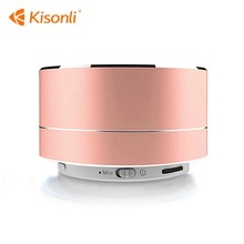 Mini Metal Portable A10 Wireless Speaker Round Subwoofer support TF AUX FM Radio Car Handsfree