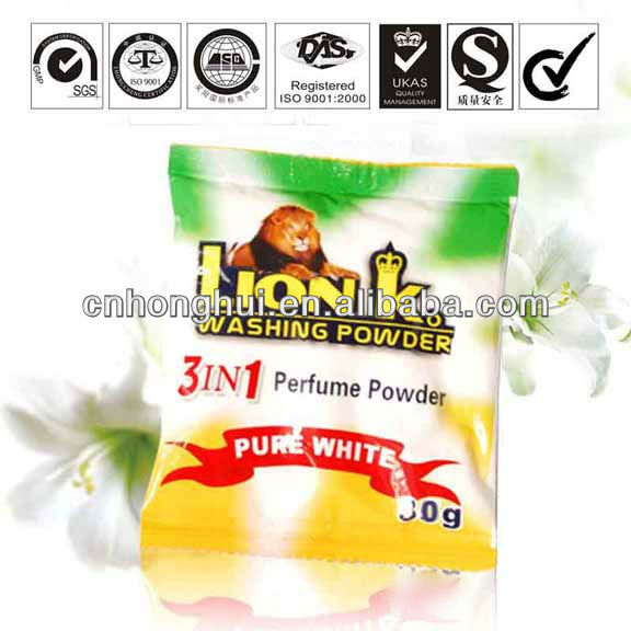 Sweat stains and odors clean by Lion`K washing powder