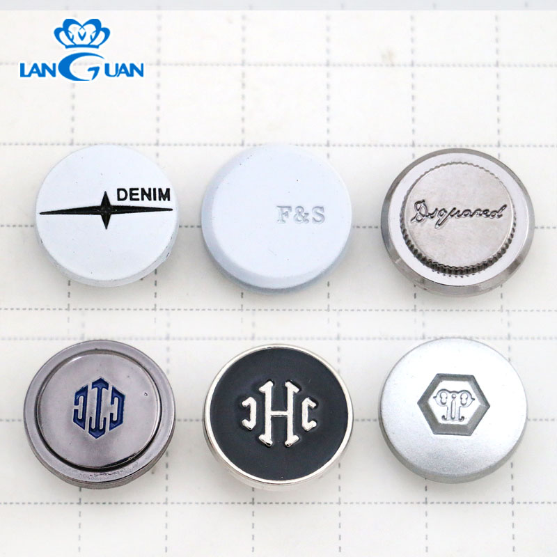 Metal jeans button 2g 17mm/20mm