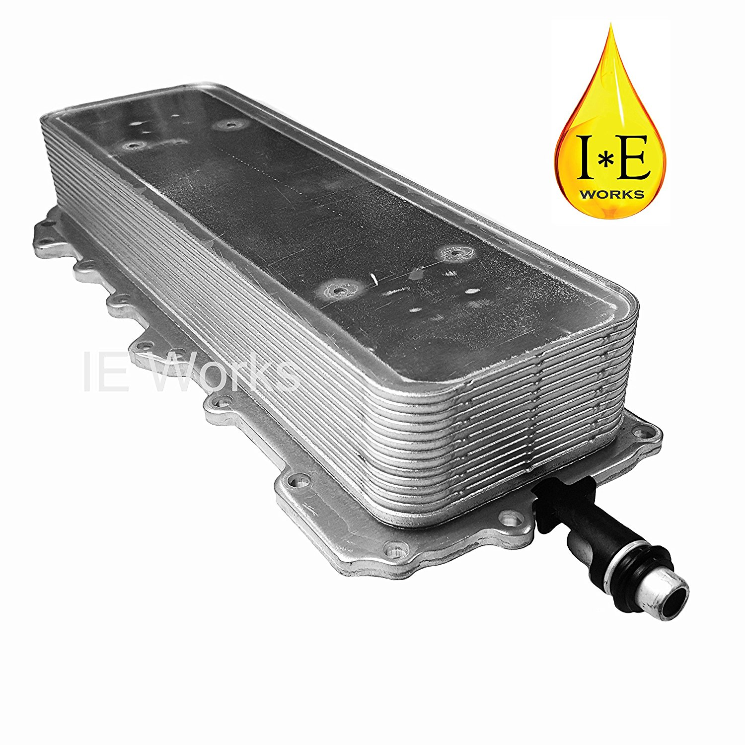 Brand New IE Works Engine Oil Cooler Heat Exchanger with Gasket for Land Rover Range Rover Sport 5.0L LR039821 LR010728 LR010770 2010 2011 2012 2013 2014 2015 2016