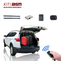 KIT BSM Auto Back Trunk System Smart Electric Tail Gate Lift for Toyota RAV4 2013 2014 2015 2016 With Electric Suction Tailgate
