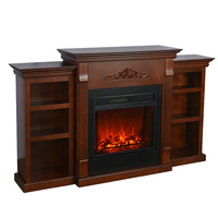 electric fireplace tv stand freestanding heater