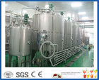 tea leaves extracting or tea powder dissolving tea beverage line