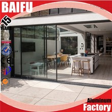 Baifu Aluminum Doors Exterior Used With International And Canada Standard