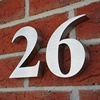 Stainless Steel House Numbers and Alphabet Letters