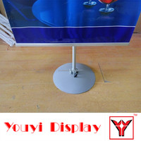 round base flex wall picture stand