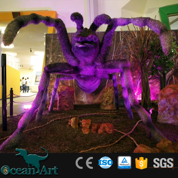 OAZ3839 Enlarged Models of Animatronic Artificial Spider