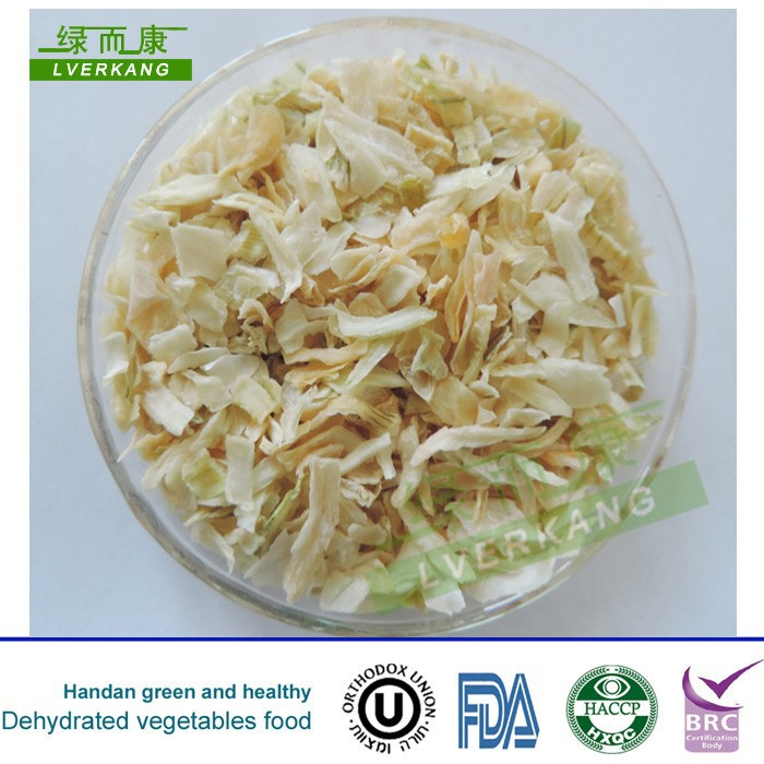 High Quality Dehydrated White Onion Chopped