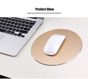 Square/Round Gaming Mouse Pad Aluminum Anti Slip Rubber Keyboard Mat PC Computer Laptop Gaming Mousepad Gamer for Dota for LOL
