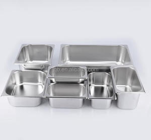 Hot sale stainless steel Gastronorm GN food pan