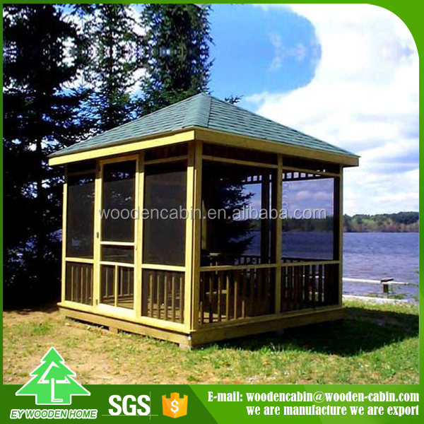 Factory direct sale Cheap Price wooden pavillion From China