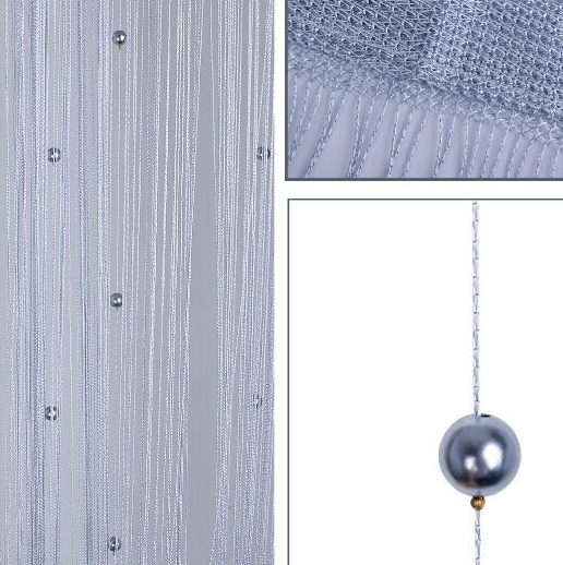 Door Window Living Room String Curtain With Beads