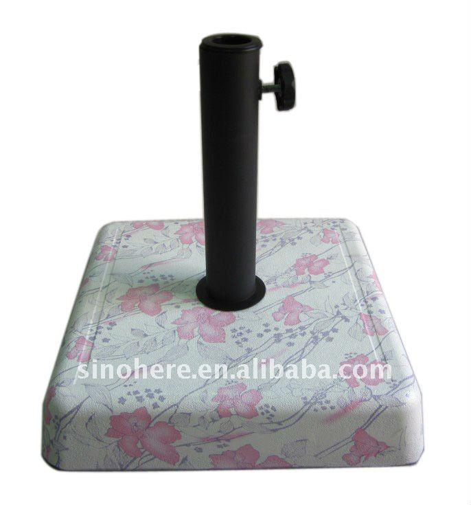 Modern Garden Granite Umbrella Stand Base CK6110