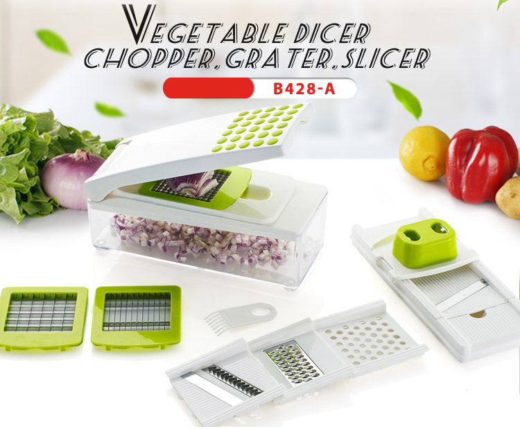 Venda quente multi-funcional Vegetal pique magia chopper como visto como na tv