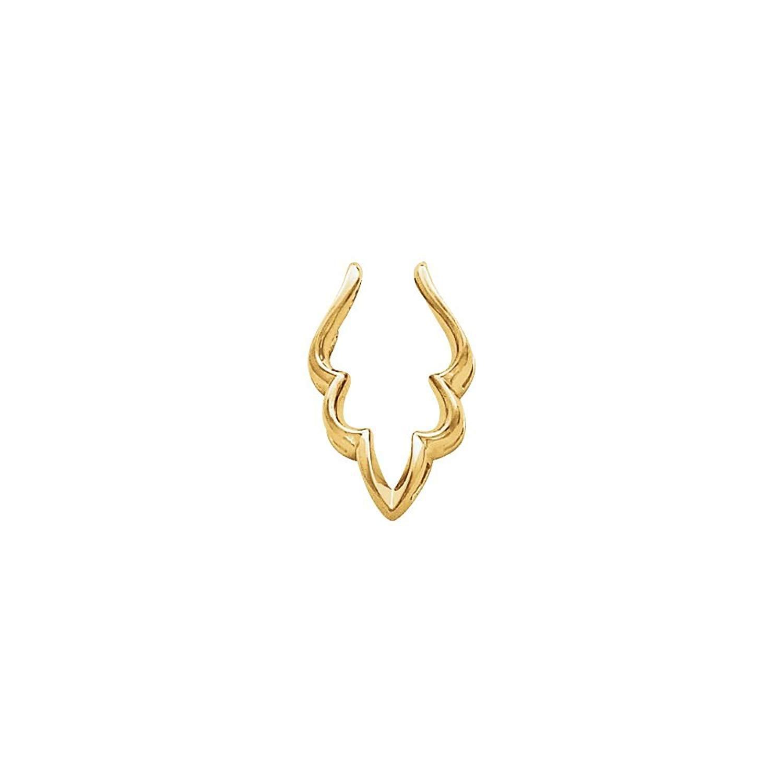 Bonyak Jewelry Pendant Enhancer in 14k Yellow Gold