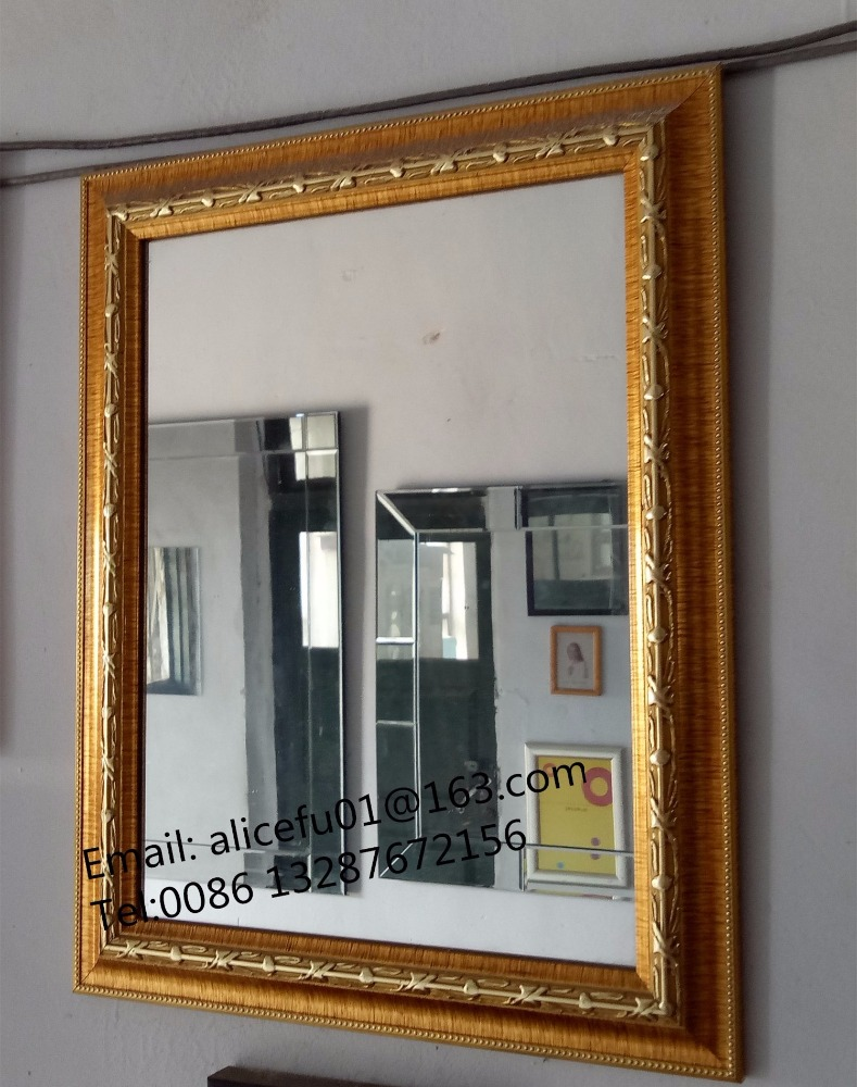 Venta al por mayor espejos plateados con decoracion papel-Compre ...