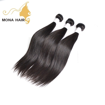 Double Weft Virgin Remy Hair Extensions 100% Human Hair Tangle Free