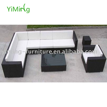 Bella Garden black big corner /Sectional Sofa/Lounge Rattan Outdoor Furniture