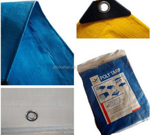 High Duty Truck Cover PE Plastic Tarpaulin Sheet with UV