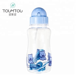 Wholesale outdoor travel transparent sports water kid bottle